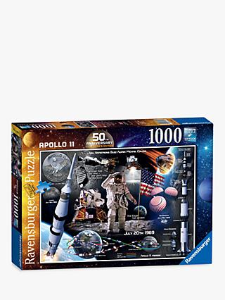 Ravensburger Moon Landing Jigsaw Puzzle, 1000 Pieces