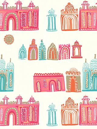 Villa Nova Pink City Wallpaper, W570/01