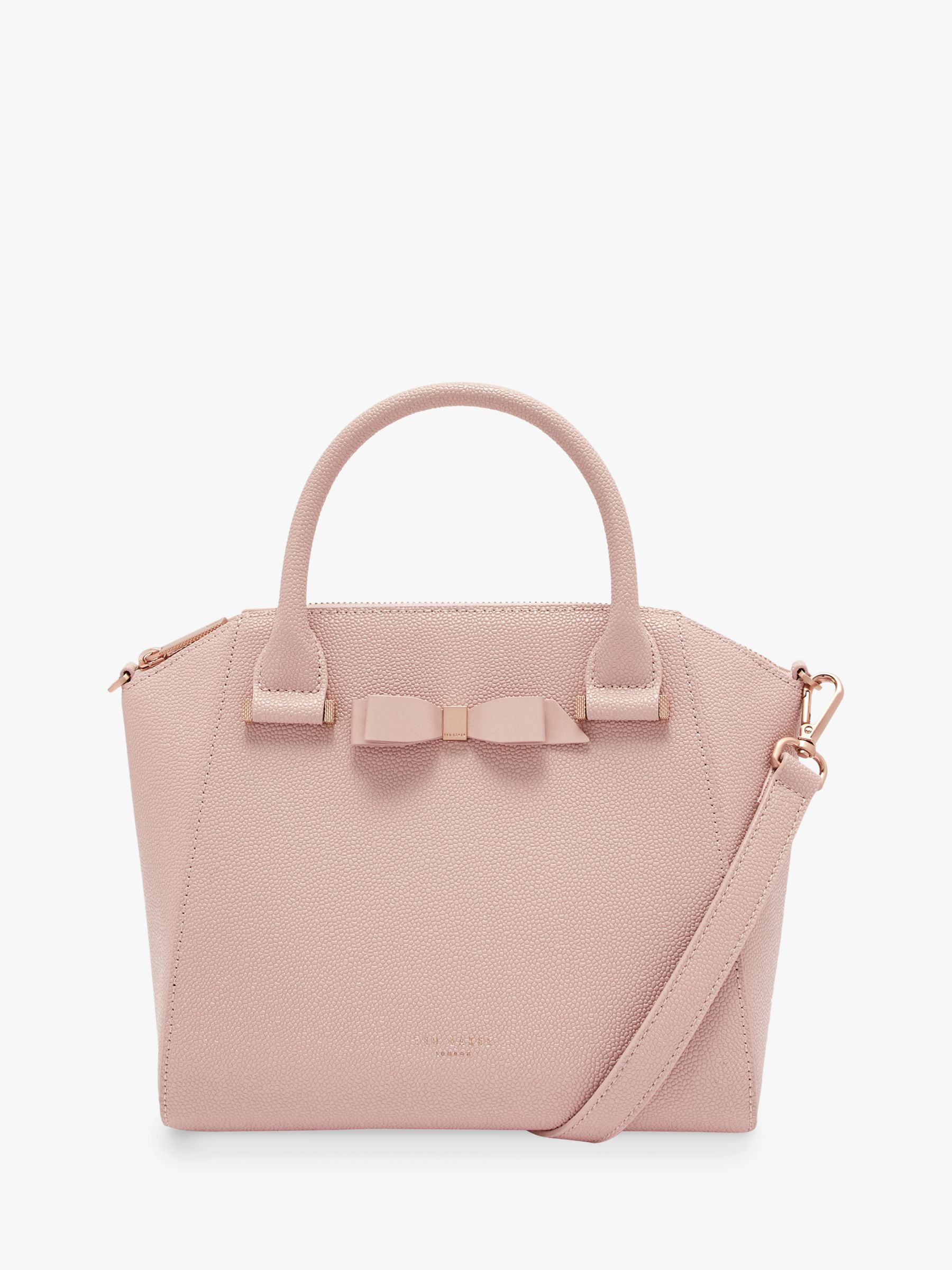 86ea184b5a860f Ted Baker Janne Bow Leather Tote Bag at John Lewis   Partners