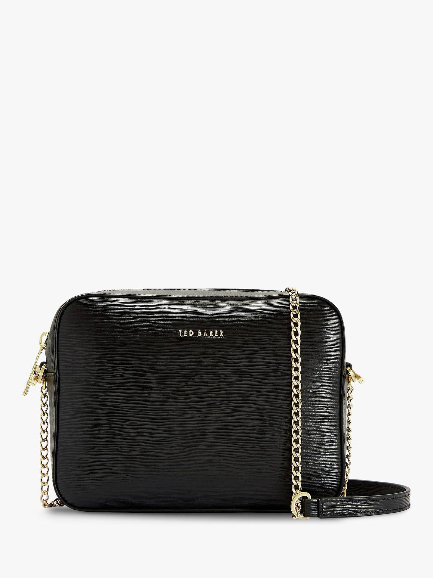 5d556572d Ted Baker Juliie Leather Camera Bag at John Lewis   Partners