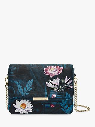 f4a9fba4bfc5 Ted Baker Saidia Mini Leather Cross Body Bag