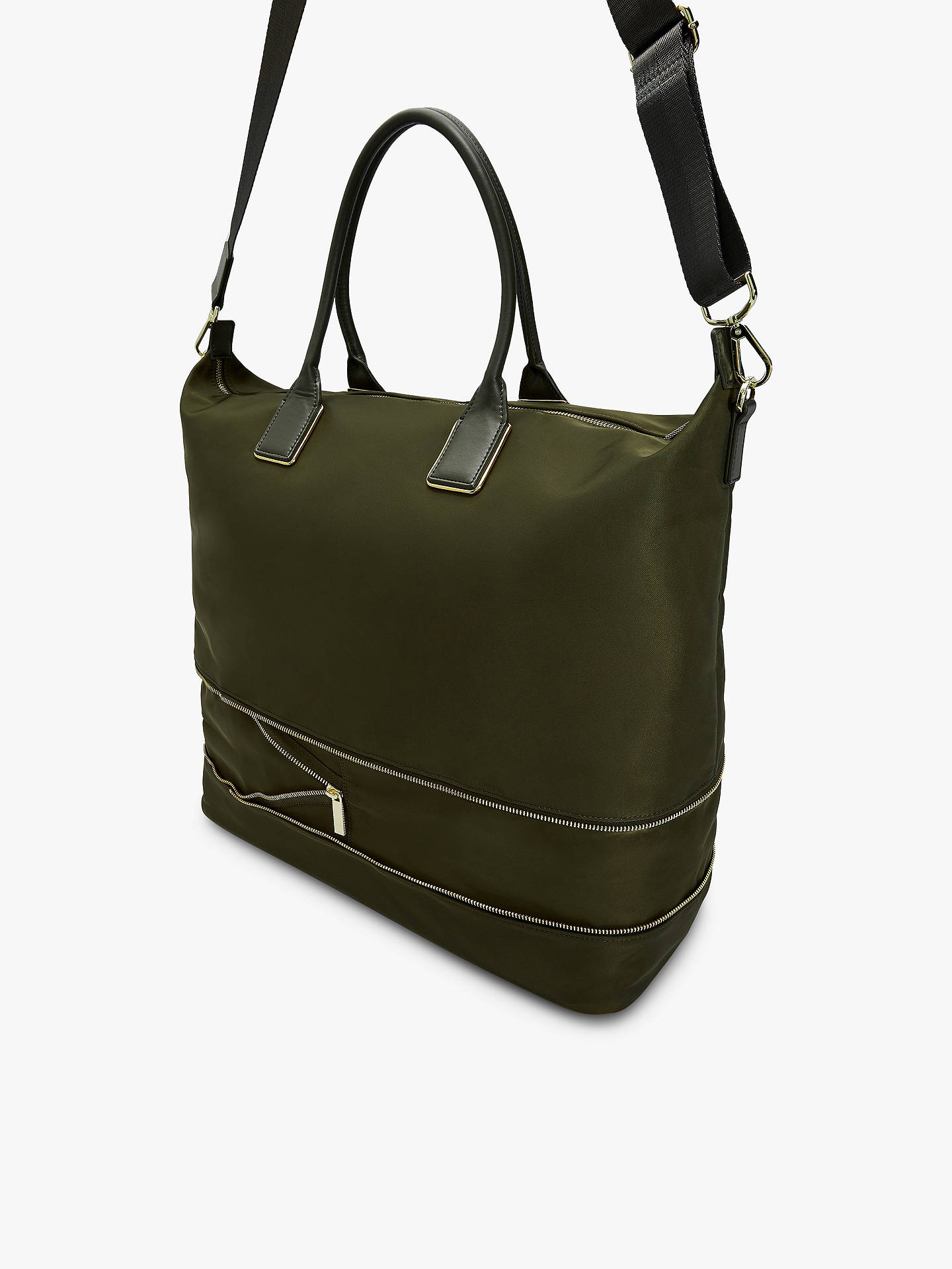 03972a08c5d ... Buy Ted Baker Emiia Expandable Tote Bag, Khaki Online at johnlewis.com  ...