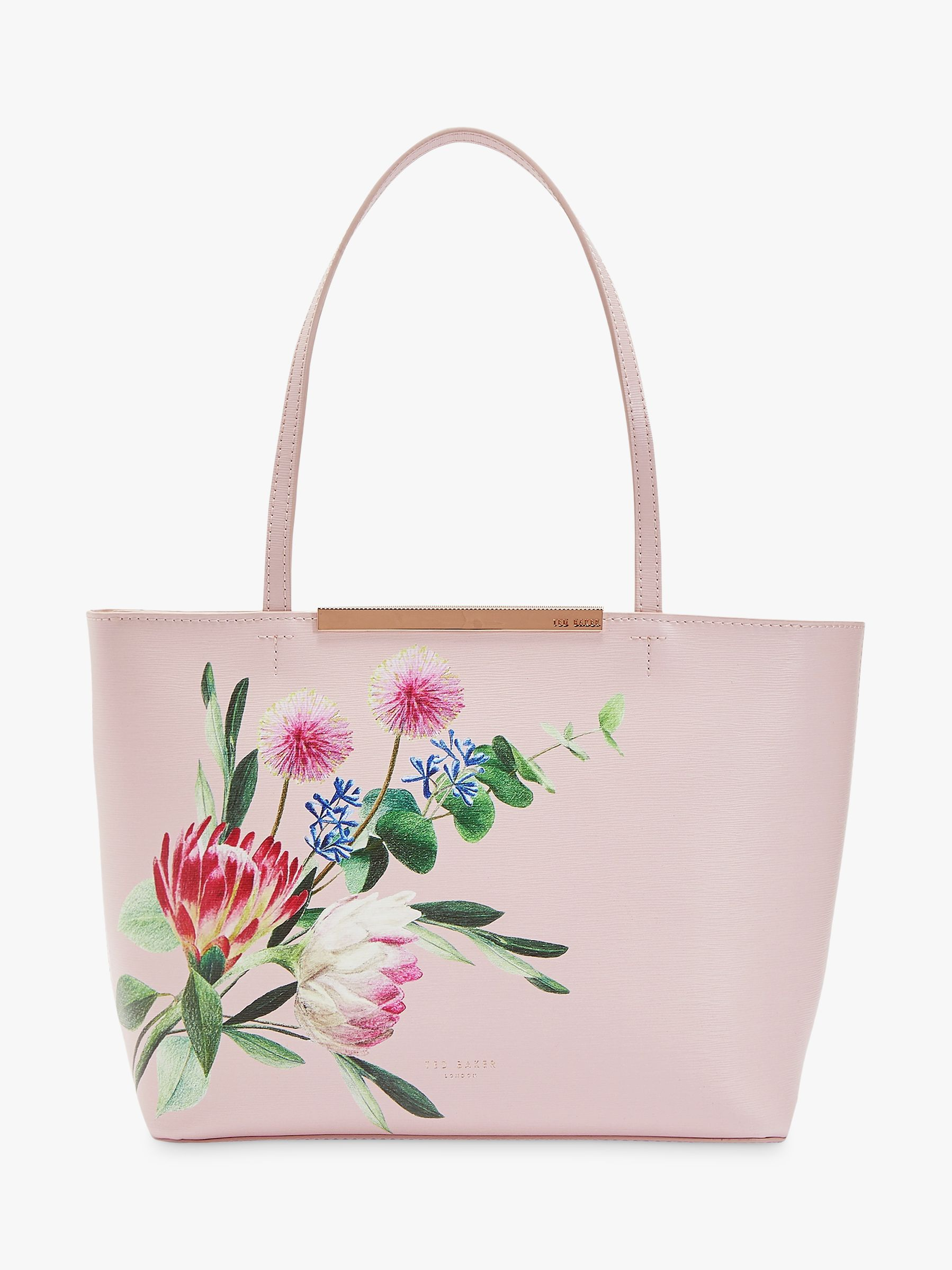 38f5656e0943a Ted Baker Abiiey Mini Shopper Bag, Light Pink at John Lewis & Partners