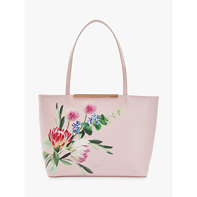 Image of Ted Baker Abiiey Mini Shopper Bag, Light Pink