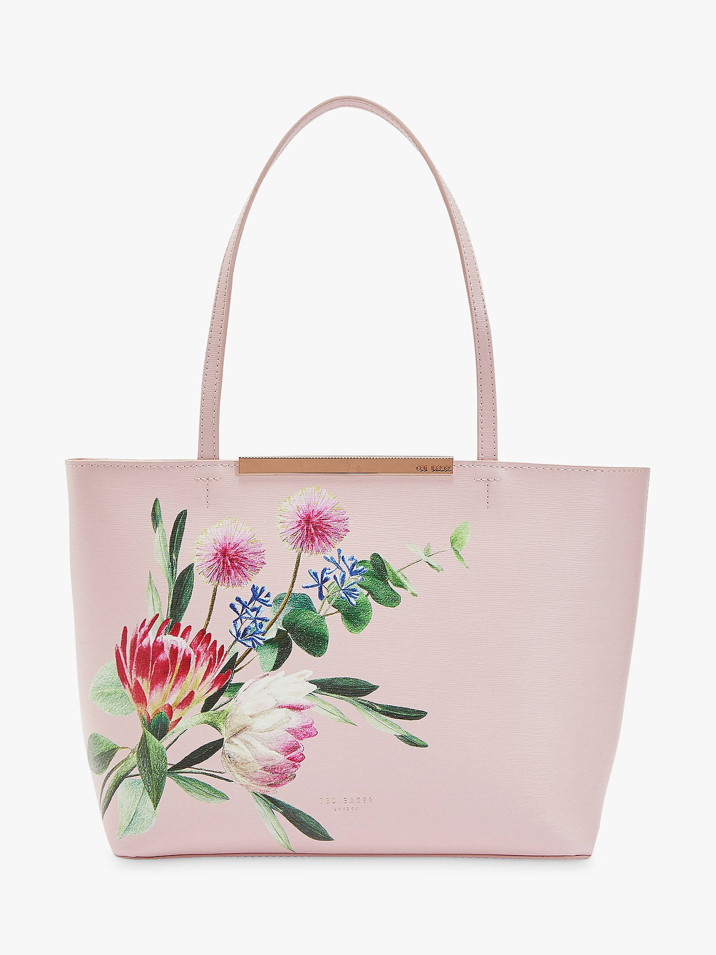 369b6cb4813b5 Buy Ted Baker Abiiey Mini Shopper Bag, Light Pink Online at johnlewis.com  ...