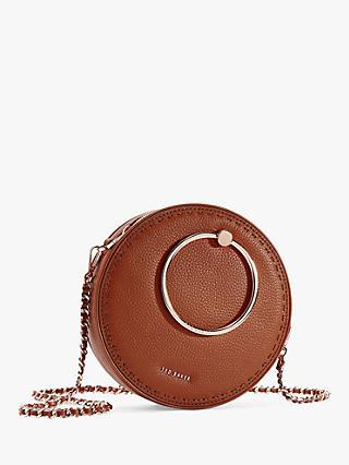 fe26e7ca9d4a Ted Baker Madddie Leather Circle Shoulder Bag