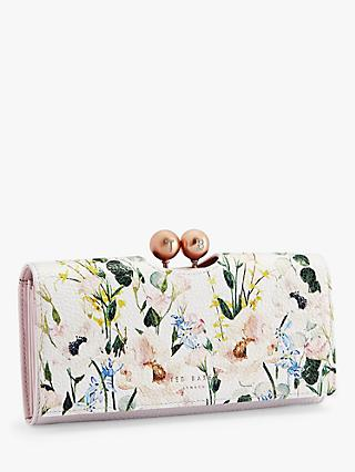 b517939588db9 Ted Baker Clarita Floral Print Leather Matinee Purse