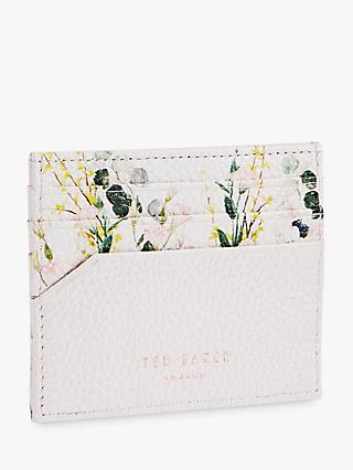 b353408a26177 Ted Baker Cyrilla Floral Print Leather Card Holder