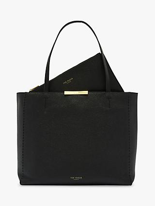 Ted Baker Clarkia Leather Shopper Bag