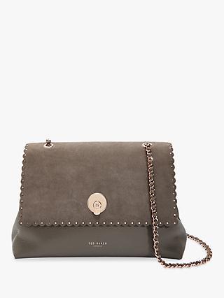 2cac6786a4d7 Ted Baker Soraya Lock Detail Leather Shoulder Bag