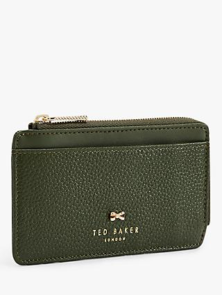 Ted Baker Lotta Leather Zipped Coin & Card Holder