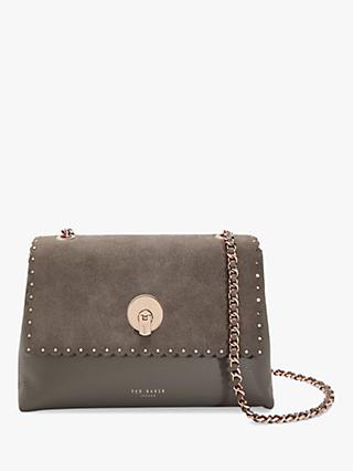 d45d55a50032 Ted Baker Sultane Lock Detail Leather Cross Body Bag