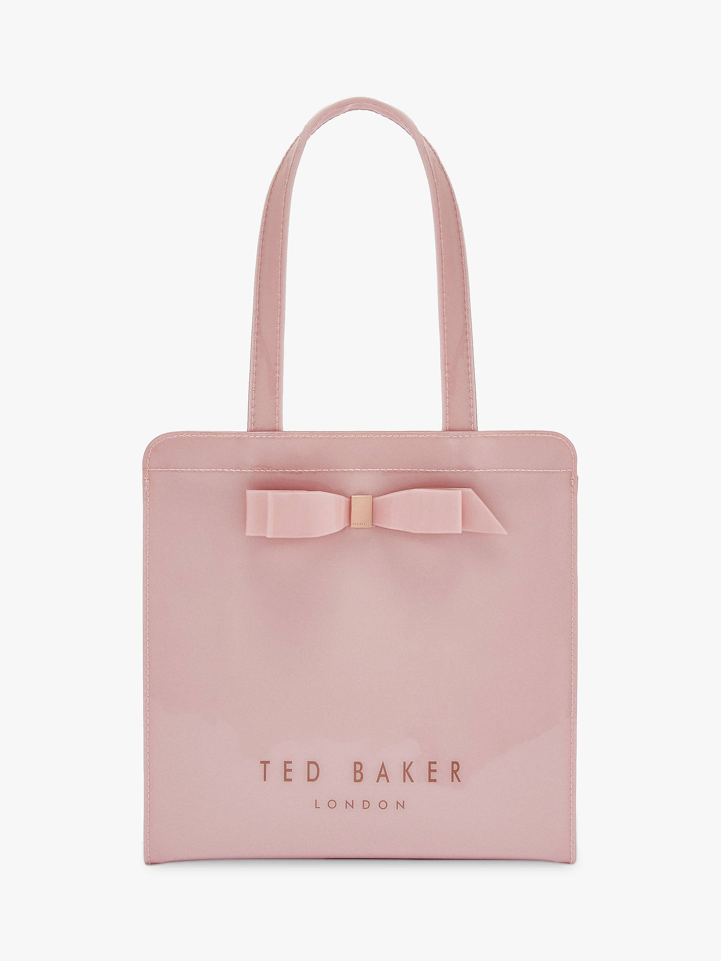 668b8d9237f Buy Ted Baker Arycon Small Icon Shopper Bag, Light Pink Online at  johnlewis.com ...