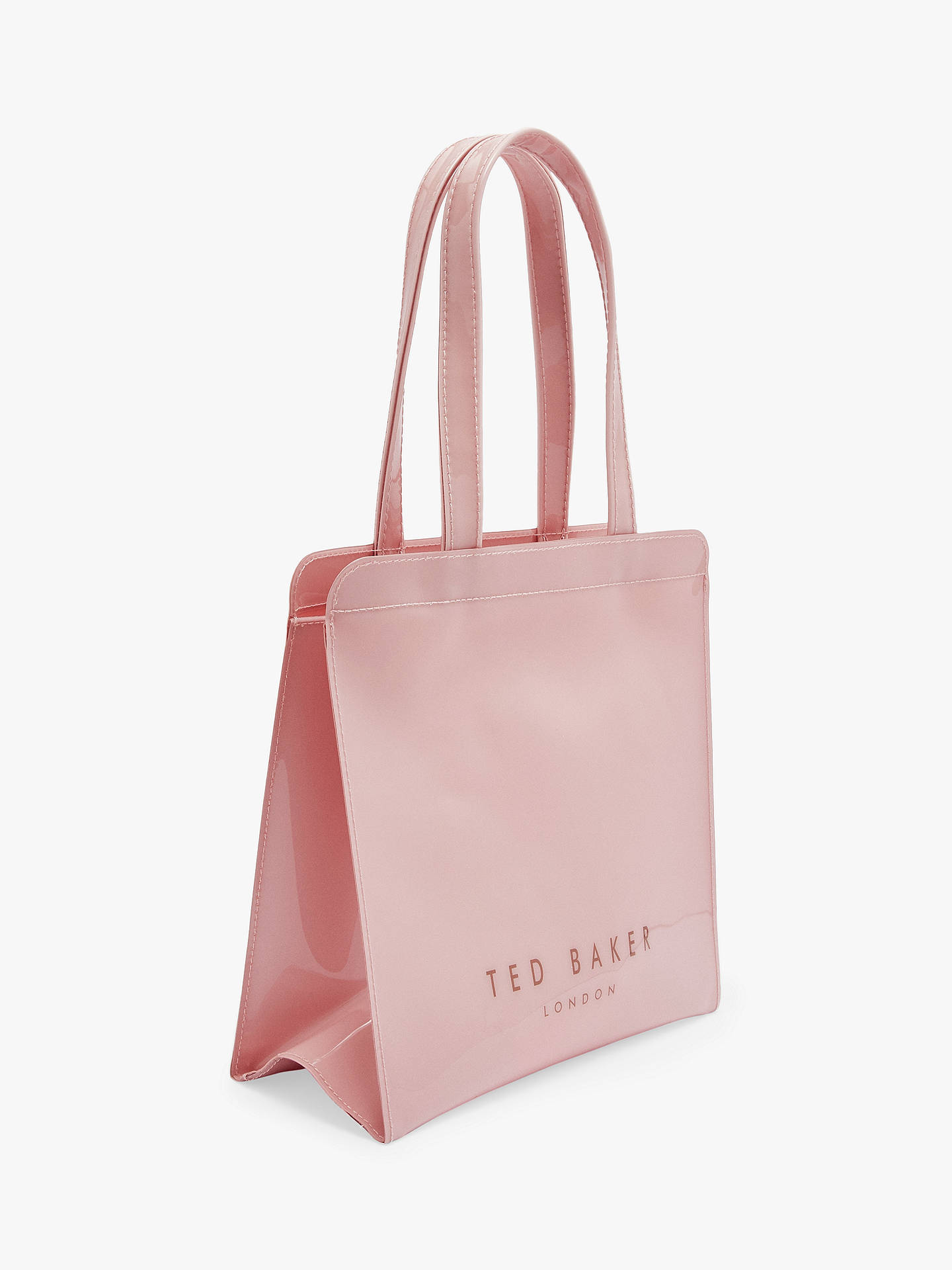 66def79521e ... Buy Ted Baker Arycon Small Icon Shopper Bag, Light Pink Online at  johnlewis.com ...