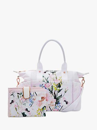 7270f22ee53200 Ted Baker Elizza Floral Print Baby Changing Bag