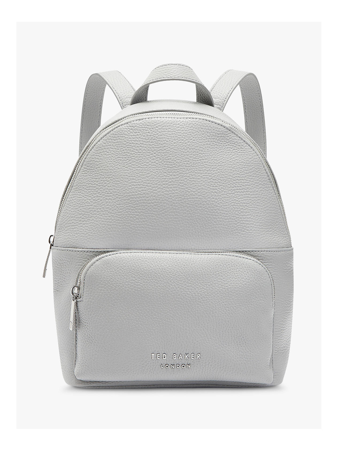 best supplier Clearance sale lovely luster Ted Baker Paloya Leather Backpack, Light Grey
