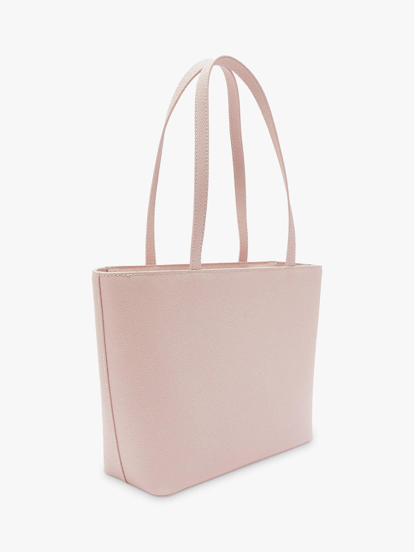 bd3af27bdcb2 Ted Baker Jessica Bow Leather Shopper Bag at John Lewis   Partners