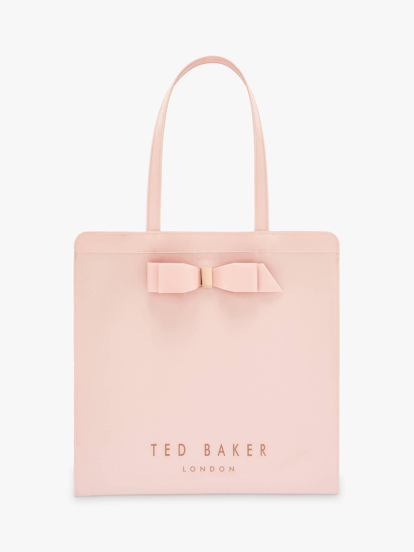 92f54bd4f36 Buy Ted Baker Almacon Large Icon Shopper Bag, Light Pink Online at  johnlewis.com ...