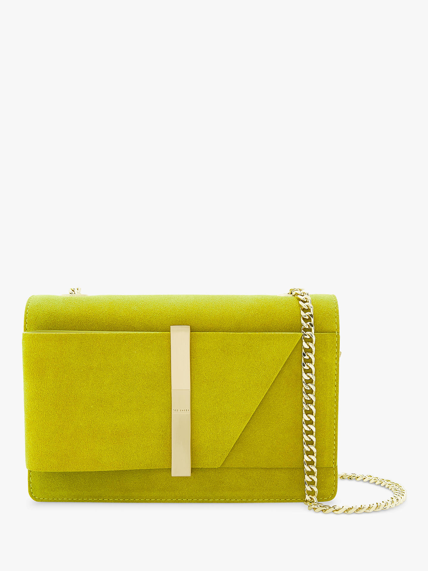 f9fd96c6ad82 Ted Baker Caliee Mini Leather Cross Body Bag at John Lewis   Partners