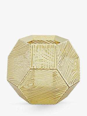 Buy Tom Dixon Etch Tealight Holder, Gold Online at johnlewis.com