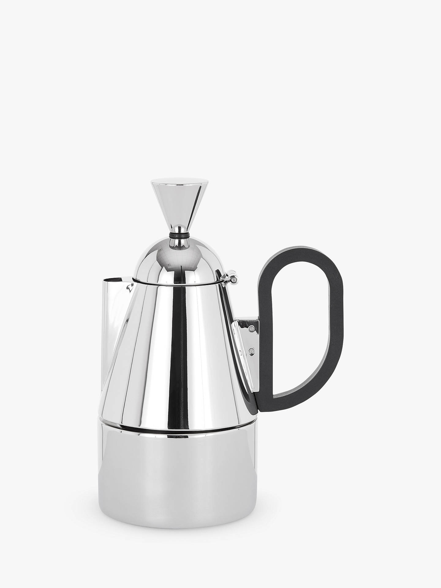 Tom Dixon Brew Stove Top Coffee Pot Stainless Steel At John Lewis
