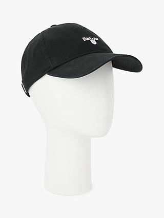 Barbour Cascade Sports Baseball Cap, One Size, Black