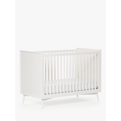 Pottery Barn Kids Mid Century Cotbed, White