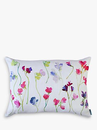 bluebellgray Sweet Pea Cushion, Multi
