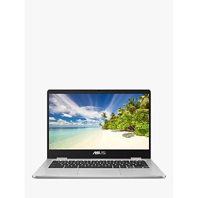 "Image of ASUS C423NA 14"" Intel®? Celeron Chromebook - 32 GB eMMC, Black & Silver, Black"