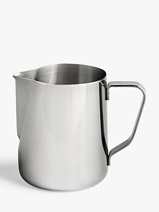 John Lewis & Partners Stainless Steel Milk Jug, 300ml