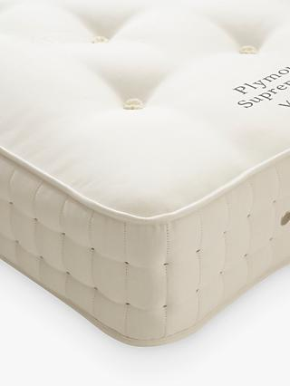 Vispring Plymouth Supreme 1200 Pocket Spring Mattress, Medium Tension, Single