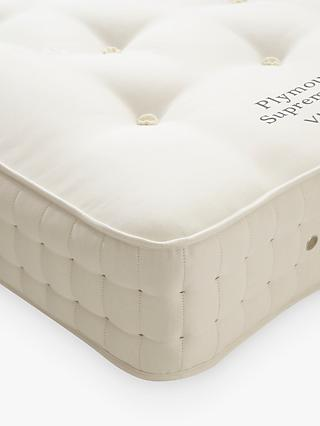 Vispring Plymouth Supreme 1200 Pocket Spring Mattress, Medium Tension, Extra Long Single