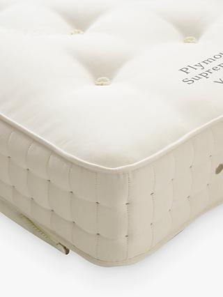 Vispring Plymouth Supreme 1200 Pocket Spring Zip Link Mattress, Medium Tension, Super King Size