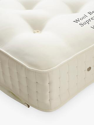 Vispring Wool Bedstead Supreme 1700 Pocket Spring Zip Link Mattress, Medium Tension, Emperor