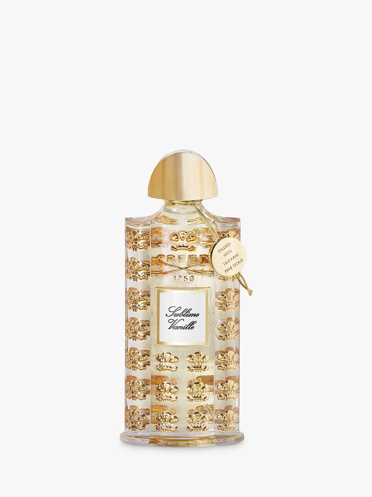 Creed Royal Exclusives Sublime Vanille Eau De Parfum 75ml At John