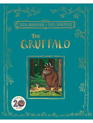 The Gruffalo 20th Anniversary Deluxe Edition Children's Book