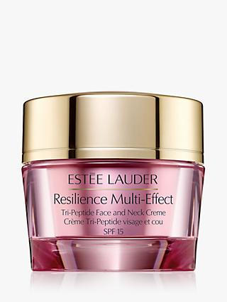 Estée Lauder Resilience Multi-Effect Tri-Peptide Face and Neck Creme SPF 15, Normal/Combination Skin, 50ml