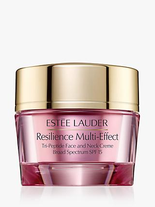 Estée Lauder Resilience Multi-Effect Tri-Peptide Face and Neck Creme SPF 15, Dry Skin, 50ml
