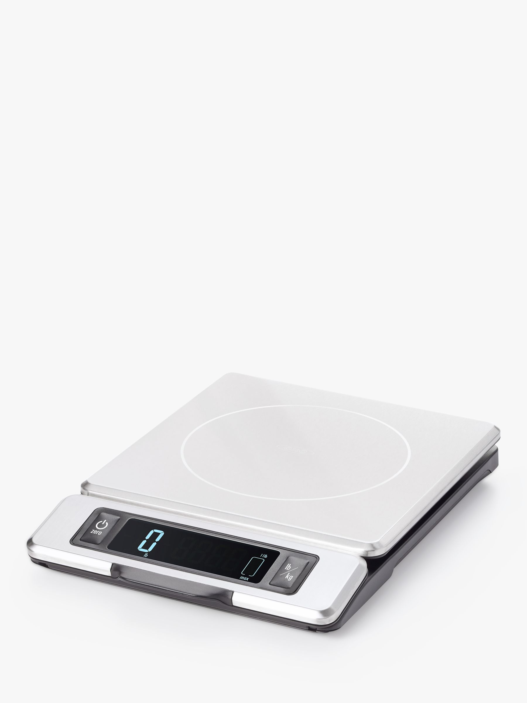 Oxo OXO Good Grips Stainless Steel Electronic Kitchen Scale, Silver, 5kg