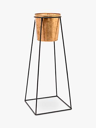 Ivyline Indoor Plant Pot and Mimmo Stand, H60.5cm