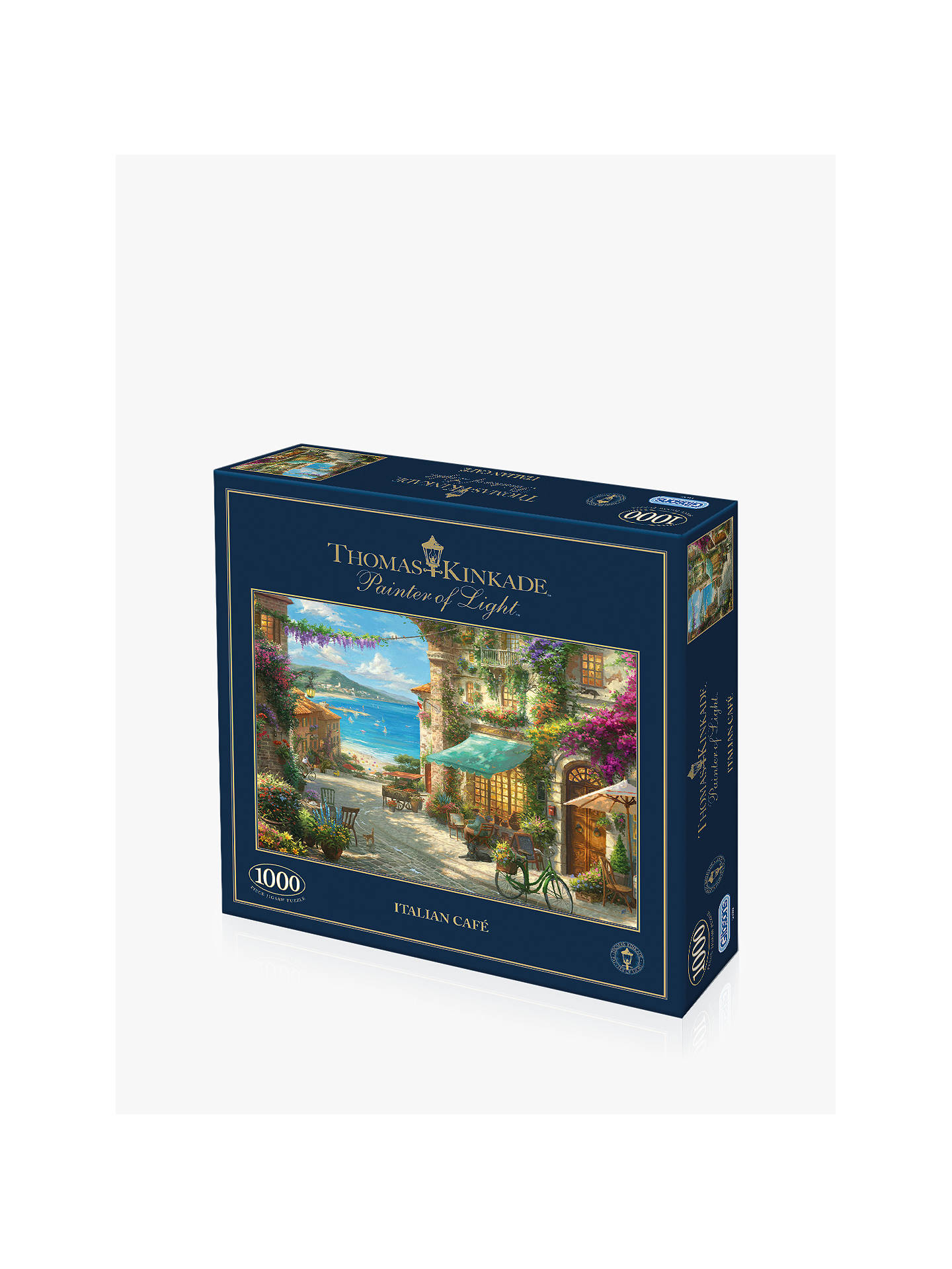 Buy Gibsons Italian Cafe Jigsaw Puzzle, 1000 pieces Online at johnlewis.com