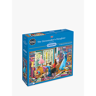 Image of Gibsons The Dressmaker Jigsaw Puzzle, 1000 pieces
