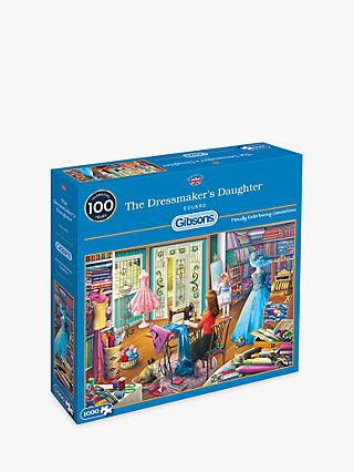 Gibsons The Dressmaker Jigsaw Puzzle, 1000 pieces