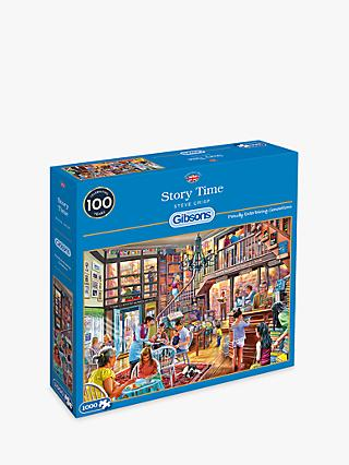 Gibsons Story Time Jigsaw Puzzle, 1000 pieces