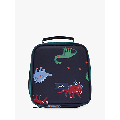 Joules Dino Lunch Bag, Navy