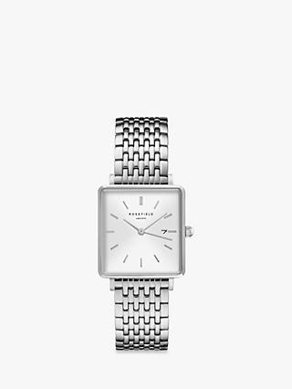 ROSEFIELD Women s The Boxy Date Bracelet Strap Watch 8d02ed050c