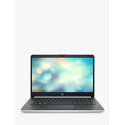 Image of HP 14S 14-df0001na Laptop, Intel Pentium, 4GB RAM, 128GB SSD,14, Natural Silver