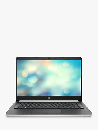 "HP 14-df0001na Laptop, Intel Pentium, 4GB RAM, 128GB SSD,14"", Natural Silver"