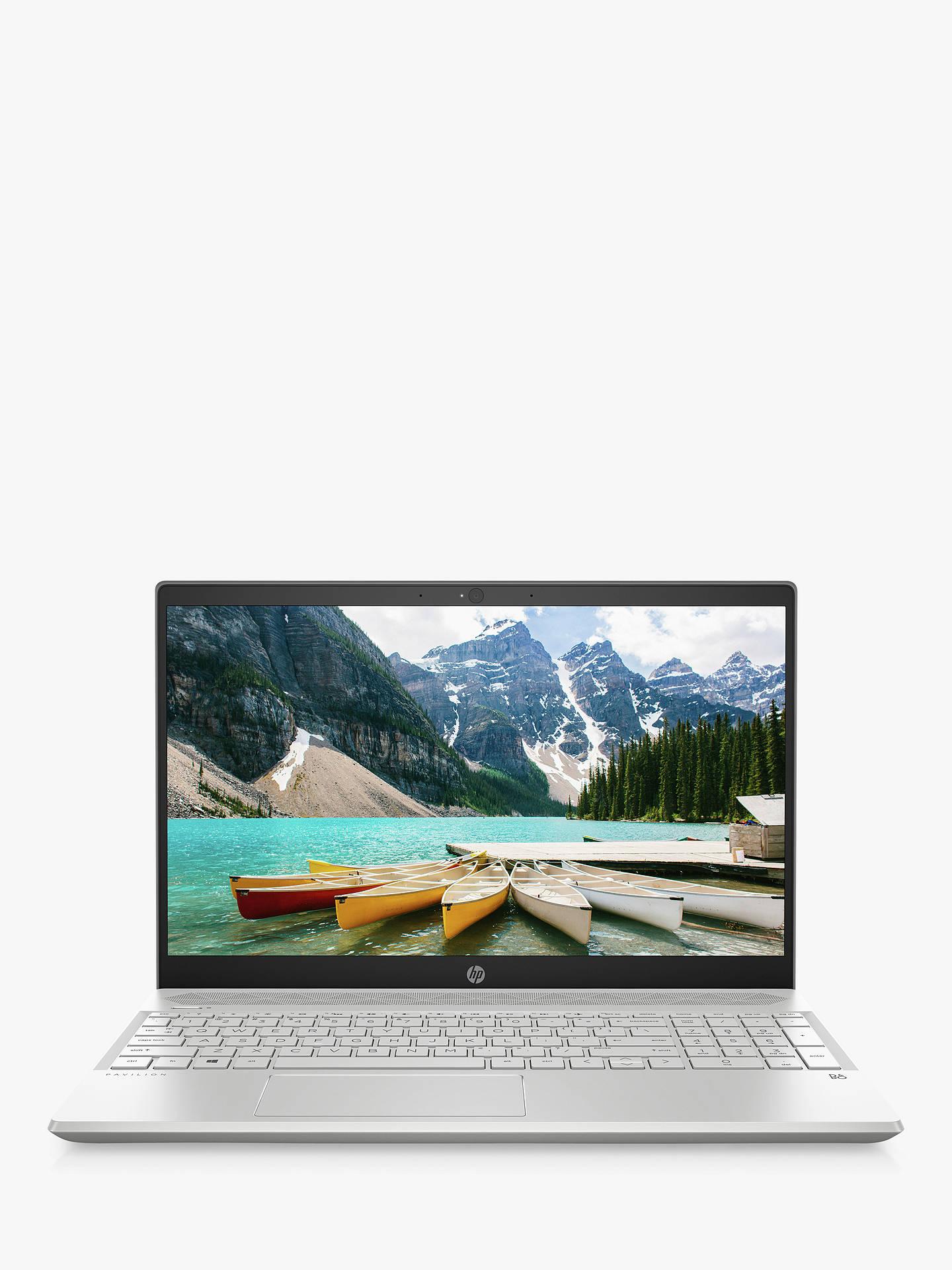 """HP Pavilion 15-cs1004na Laptop, Intel Core i5 Processor, 8GB RAM, 256GB  SSD, GeForce GTX 1050, 15 6"""" Full HD, Mineral Silver"""