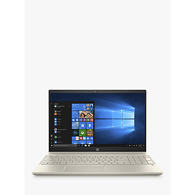 Image of HP Pavilion 15-cw0980na Laptop, AMD A9, 4GB RAM, 128GB SSD, 15.6 Full HD, Ceramic White